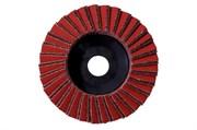 Комбинированный ламельный шлифовальный круг 125 мм, среднее зерно, WS, Metabo, 626370000