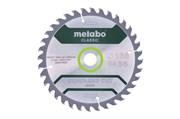 Пильное полотно «cordlesscutwood— classic», 165x20 Z36 WZ15°, Metabo, 628279000