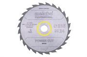 Пильное полотно «powercutwood— professional», 235x30, Z24 WZ 20°, Metabo, 628493000