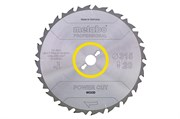 Пильное полотно «powercutwood— professional», 350x30, Z22 FZ 22°, Metabo, 628017000