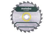 Пильное полотно «powercutwood— classic», 235x30 Z24 WZ 18° /B, Metabo, 628678000