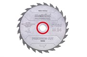 Пильное полотно «precisioncutwood— professional», 165x20 Z42 WZ15°, Metabo, 628291000