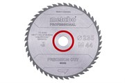 Пильное полотно «precisioncutwood— professional», 235x30 Z44 WZ15°, Metabo, 628494000