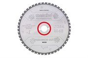 Пильное полотно «precisioncutwood— professional», 254x30, Z60 WZ 5° neg., Metabo, 628222000