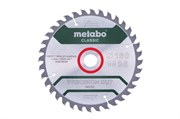 Пильное полотно «precision cut wood — classic», 160x20 Z36 WZ 10°, Metabo, 628278000