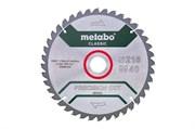 Пильное полотно «precision cut wood— classic», 216x30 Z40 WZ 5°neg /B, Metabo, 628652000