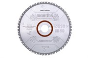 Пильное полотно «laminatecut— professional», 216x30 Z60 FZ/TZ0°, Metabo, 628442000