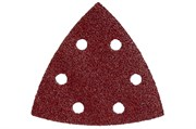 25 шлифовальных листов на липучке 93x93 мм, P 40, H+M,DS, Metabo, 624980000