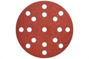 50 шлифовальных листов на липучке, 125 мм, P100, Д+М, «multi-hole», Metabo, 626851000