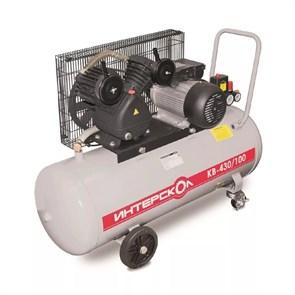 Интерскол КВ-430/100 компрессор воздушный масляный с ременным приводом  247.1.1.00