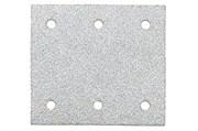 10 шлифовальных листов на липучке 115x103 мм, P 240, краска, SR, Metabo, 625645000