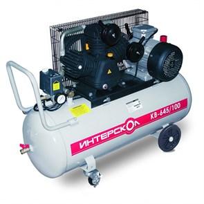 Интерскол КВ-645/100 компрессор воздушный масляный с ременным приводом  248.1.1.00