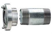 """Муфта Шторца 1 1/2"""" с удлинительной трубкой 100 мм, Metabo, 628801000"""