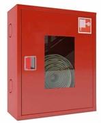 Шкаф пожарный с евроручкой ШПК-310 НОК (навесной открытый красный)