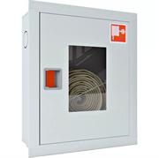 Шкаф пожарный с евроручкой ШПК-310 ВОБ (встроенный открытый белый)