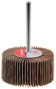 """Круг шлифовальный ЗУБР """"МАСТЕР"""" веерный лепестковый, на шпильке, тип КЛО, зерно-электрокорунд нормальный, P100, 15х30мм"""
