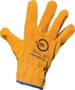 WeldMaster STG0220, Перчатки из цельного спилка (10/100)