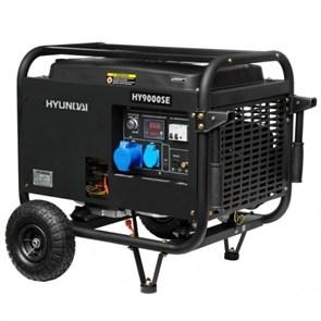 Hyundai HY 9000SE генератор бензиновый