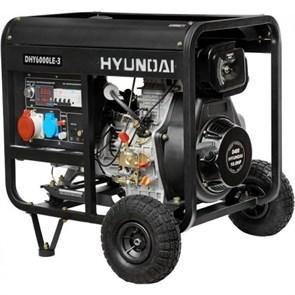 Hyundai DHY 6000LE-3 генератор дизельный