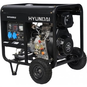Hyundai DHY 6000LE генератор дизельный