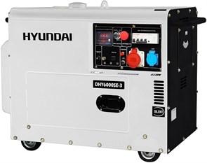 Hyundai DHY 6000SE-3 генератор дизельный