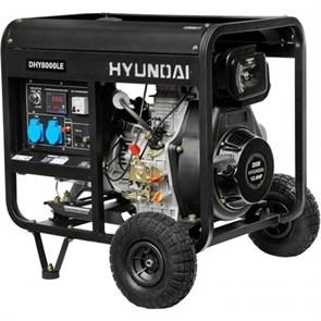 Hyundai DHY 8000LE генератор дизельный