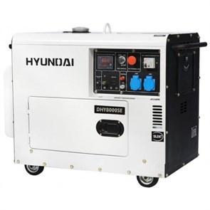 Hyundai DHY 8000SE генератор дизельный