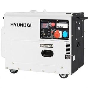 Hyundai DHY 8000SE-3 генератор дизельный