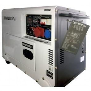 Hyundai DHY 8500SE-3 генератор дизельный