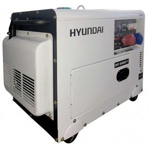 Hyundai DHY 8500SE-T генератор дизельный