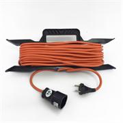 Удлинитель электрический 10 метров 1300Вт - на рамке