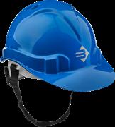 ЗУБР размер 52-62 см, храповый механизм регулировки размера, синий, каска защитная 11094-3
