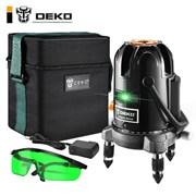 Уровень лазерный DEKO LL57GA SET 1 (в сумке)