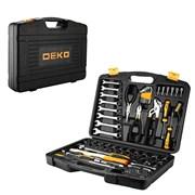 Профессиональный набор инструмента для дома и авто в чемодане Deko DKMT113 (113 предметов)
