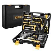 Профессиональный набор инструмента для дома и авто в чемодане Deko DKMT89 (89 предметов)