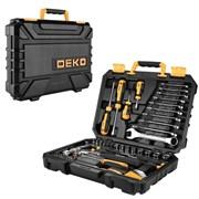 Универсальный набор инструмента для дома и авто в чемодане Deko DKMT74 (74 предмета)