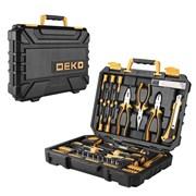 Универсальный набор инструмента для дома и авто в чемодане Deko TZ82 (82 предмета)