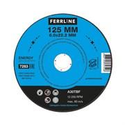 Круг для шлифования FerrLine Energy 125 х 6 х 22,2 мм A30TBF