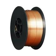 Проволока сварочная омедненная ER 70S-6 Foxweld (Св08Г2С) д.0.6мм, 1кг D100 (пр-во FoxWeld/КНР)
