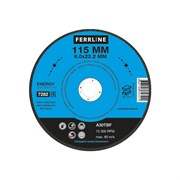 Круг для шлифования FerrLine Energy 115 х 6 х 22,2 мм A30TBF
