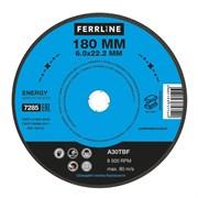 Круг для шлифования FerrLine Energy 180 х 6 х 22,2 мм A30TBF
