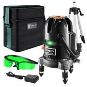 Уровень лазерный DEKO LL57GA SET 2 (в сумке, со штативом)