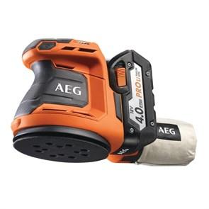 AEG BEX18-125-0,  451086 эксцентриковая шлифовальная машина