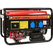 Бензиновый электрогенератор Калибр БЭГ-3000А