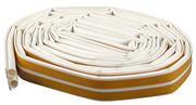 """ЗУБР 16 м, профиль """"O"""", белый, силиконовый уплотнитель самоклеящийся 4-40925-016"""