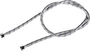 """ЗУБР 1/2"""", 1.5 м, оплетка из нержавеющей стали, подводка гибкая для воды 51005-G/G-150"""
