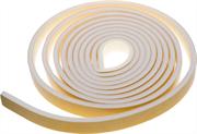 18 м, белый, уплотнитель поролоновый самоклеящийся 40901-05-18