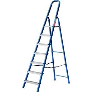 Лестница-стремянка стальная, 7 ступеней, 141 см, MIRAX