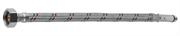"""ЗУБР 1/2"""", 1 м, оплетка из нерж. стали, укороченная для воды к смесителям, подводка гибкая 51003-100"""