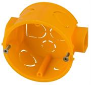 СВЕТОЗАР 68х40 мм, подштукатурный монтаж, круглая, коробка установочная SV-54903